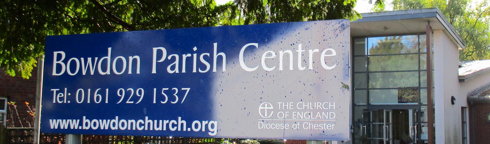 1 Parish Centre Sign