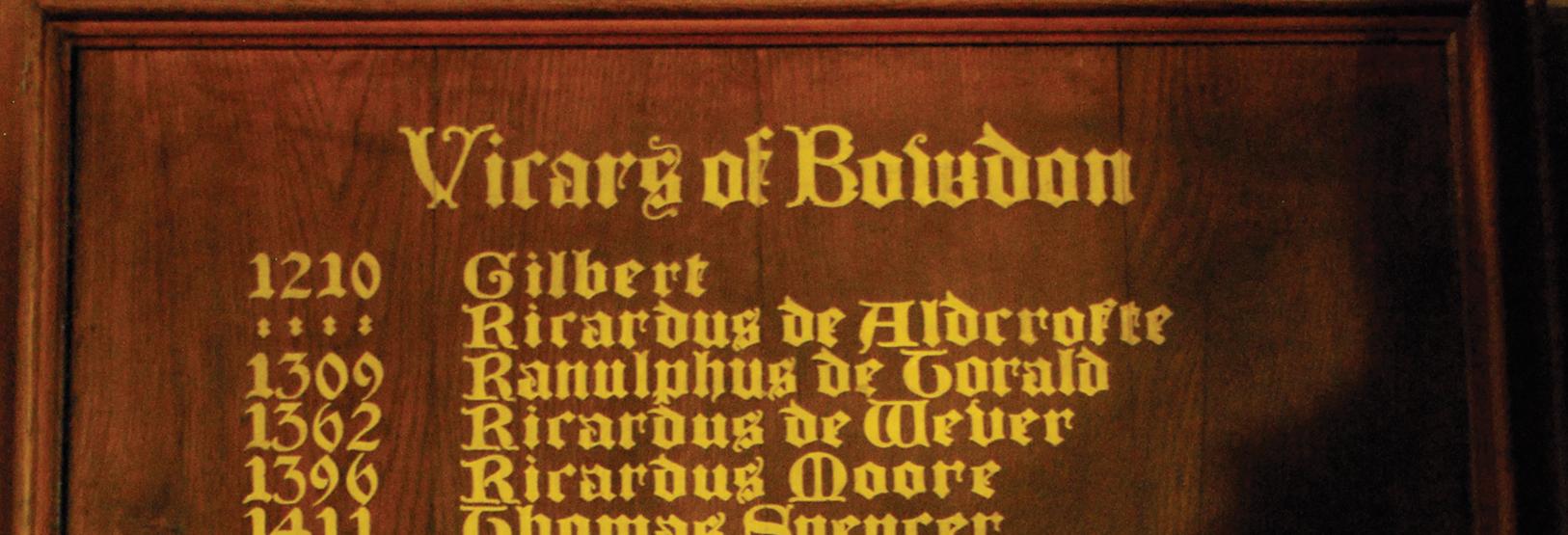 Vicars-of-Bowdon